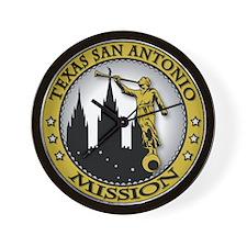 Texas San Antonio LDS Mission Wall Clock