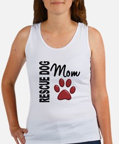 Rescue Dog Mom 2 Women's Tank Top