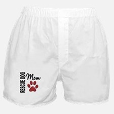 Rescue Dog Mom 2 Boxer Shorts