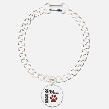 Rescue Dog Mom 2 Bracelet