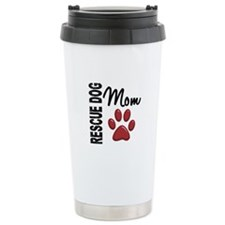 Rescue Dog Mom 2 Travel Mug
