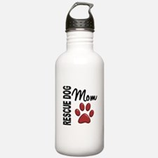 Rescue Dog Mom 2 Water Bottle