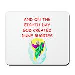 dune buggies Mousepad