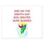 dune buggies Small Poster