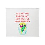 dune buggies Throw Blanket