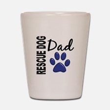 Rescue Dog Dad 2 Shot Glass