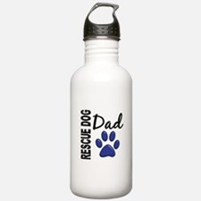 Rescue Dog Dad 2 Water Bottle
