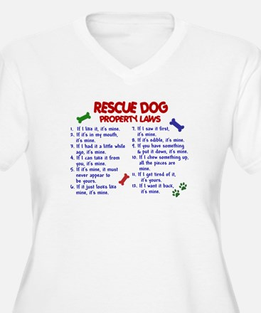 Rescue Dog Property Laws 2 T-Shirt