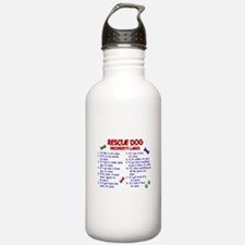 Rescue Dog Property Laws 2 Water Bottle