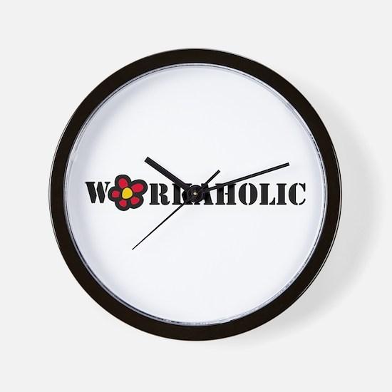 Workoholic Wall Clock