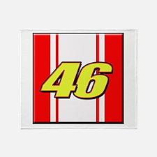 VR46stripe Throw Blanket