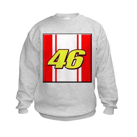 VR46stripe Kids Sweatshirt
