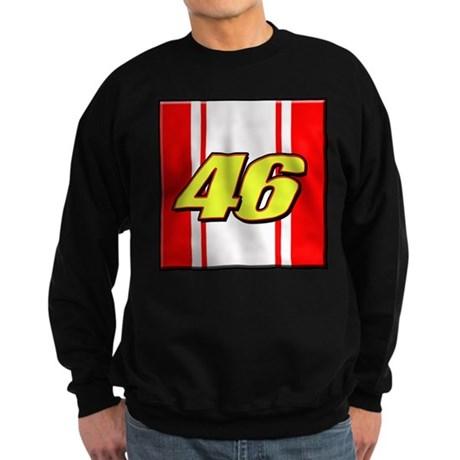 VR46stripe Sweatshirt (dark)