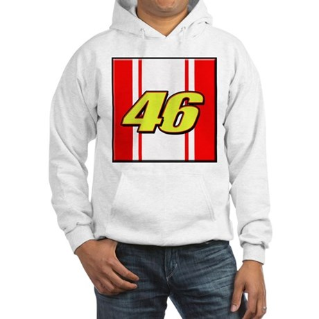 VR46stripe Hooded Sweatshirt