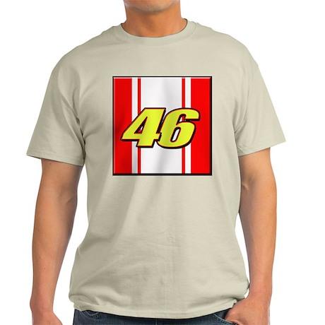 VR46stripe Light T-Shirt