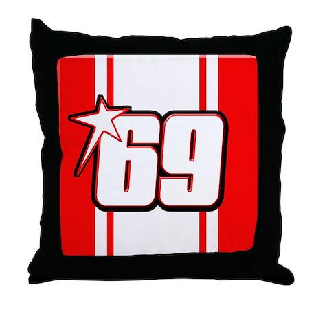 NH69stripe Throw Pillow