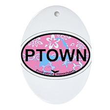 Provincetown MA - Oval Design. Ornament (Oval)