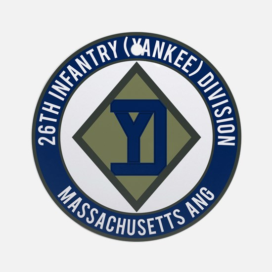 26th Infantry Mass ANG Ornament (Round)