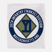 26th Infantry Mass ANG Throw Blanket