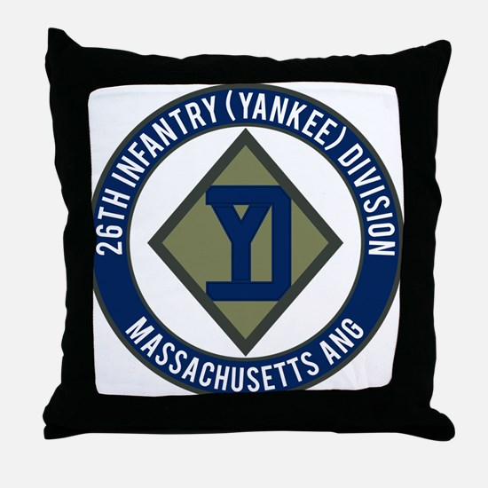 26th Infantry Mass ANG Throw Pillow