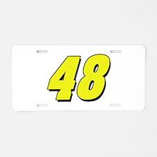 JJ48 Aluminum License Plate