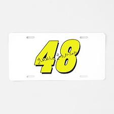 JJ48sig Aluminum License Plate