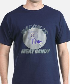 Faded Bacon is Meat Candy T-Shirt