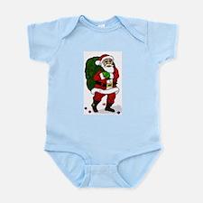 Santa Infant Bodysuit