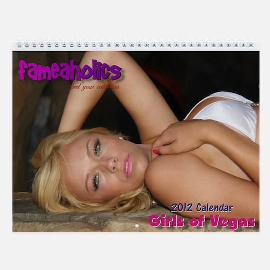 Girls of Vegas 2013 Calendar