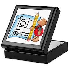 1st Grade Keepsake Box