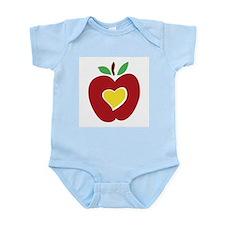 Teacher's Apple Infant Bodysuit