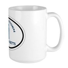 Provincetown MA - Oval Design. Mug