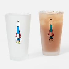 Rocket Drinking Glass