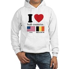 USA-BELGIUM Hoodie