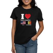 USA-BELGIUM Tee
