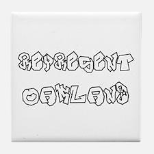 Represent Oakland (www.repoak Tile Coaster