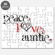 Peace Love Auntie Puzzle