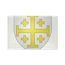 Kingdom of Jerusalem Rectangle Magnet (10 pack)