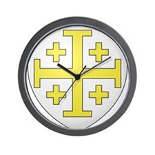 Kingdom of Jerusalem Wall Clock