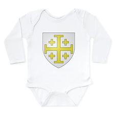 Kingdom of Jerusalem Long Sleeve Infant Bodysuit