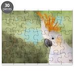 Citron Crested Cockatoo Puzzle