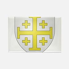 Kingdom of Jerusalem Rectangle Magnet