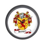 Wemyss Coat of Arms / Family Crest Wall Clock