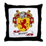 Wemyss Coat of Arms / Family Crest Throw Pillow