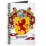 Wemyss Coat of Arms / Family Crest Journal