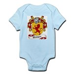 Wemyss Coat of Arms / Family Crest Infant Creeper
