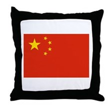 Flag of China Throw Pillow