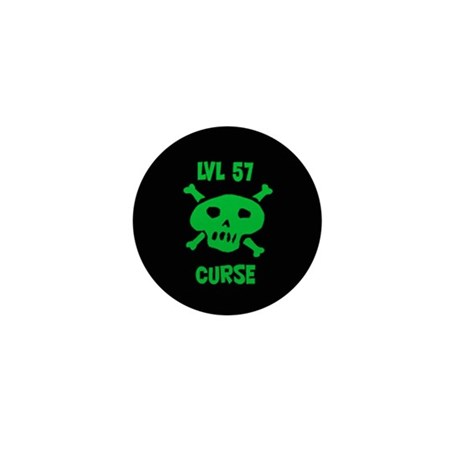 Lvl 57 Curse Mini Button