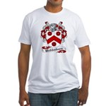 Wedderburn Coat of Arms / Crest Fitted T-Shirt