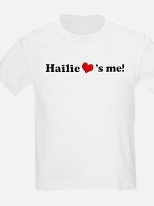 Hailie loves me Kids T-Shirt